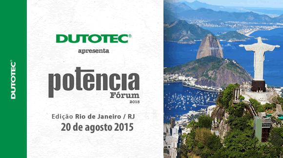 forum potencia Rio de Janeiro