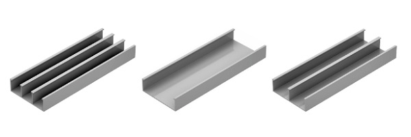 Canaleta de Alumínio Linha Standard Dutotec