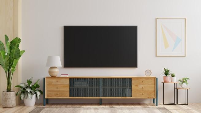 TV sem cabeamento aparente
