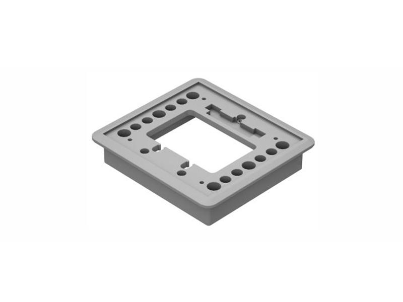Componentes da Caixa de Piso Simples
