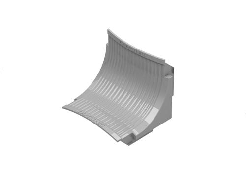Curvas Verticais internas - Raio 30mm - Para canaletas de 25 e 45mm