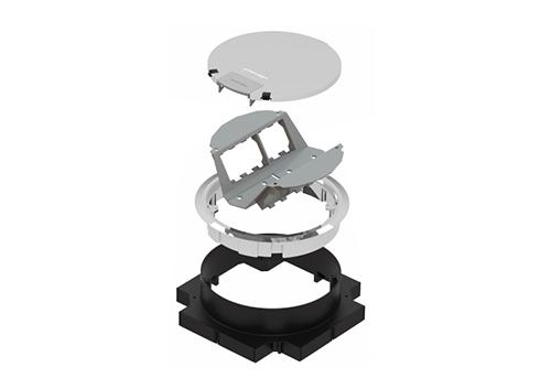 Caja Redonda - Armado Standard