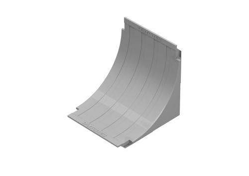 Curvas Verticais Internas - Raio 60mm - Para canaletas de 25 e 45mm