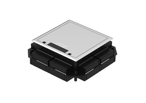 Caixa de Piso SQR Rotation 2x2 e 3x3 Piso Concretado