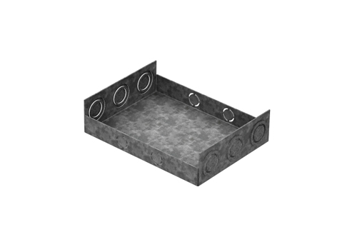 Suporte de Caixa de piso para eletrodutos